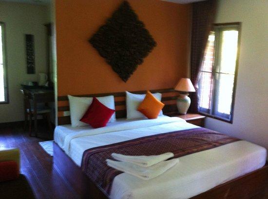 Green View Village Resort : chambretres confortable, reposante