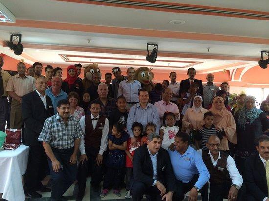 Movenpick Resort Aswan : Moevenpick Open Day for orphaned children