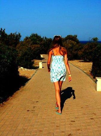 ClubHotel Riu Chiclana : walkway to the beach