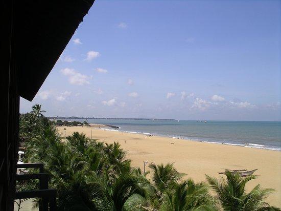Jetwing Blue : ... ein Strandblick vom Balkon aus