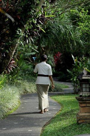 Sri Ratih Cottages: Garden