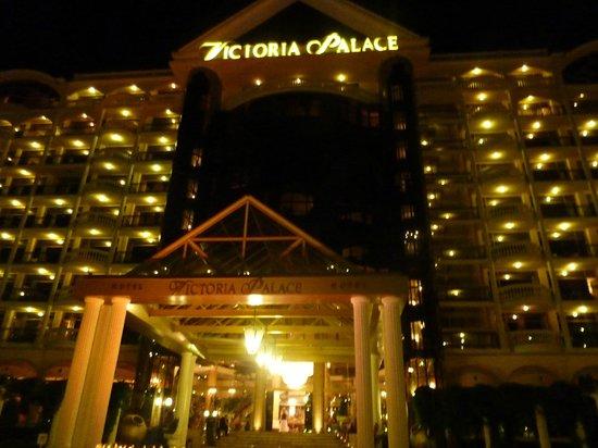 Victoria Palace Hotel & Spa: Hotel entrance