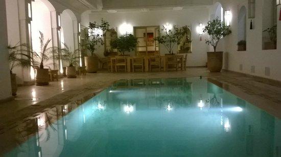 Riad Marrabahia : piscine
