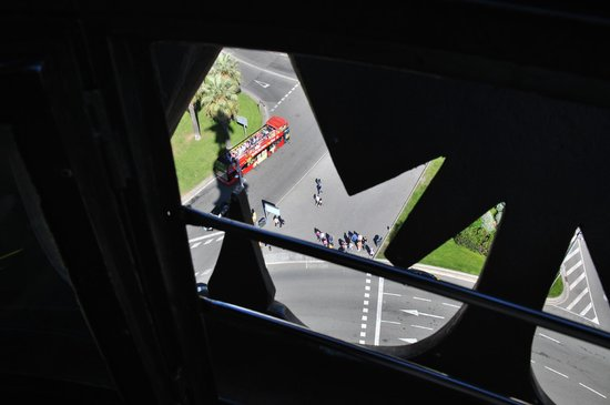 Columbus Monument : Вид с верху