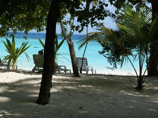 Adaaran Club Rannalhi: Vue sur la mer