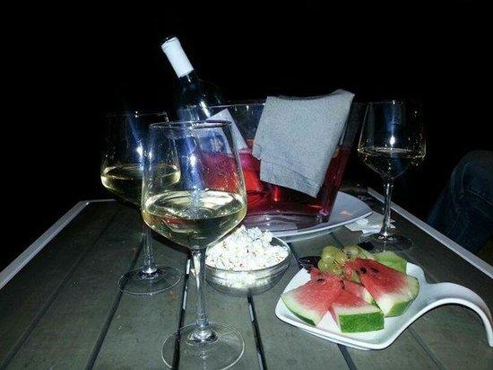 Coast cafe: White Wine @ Coast Café