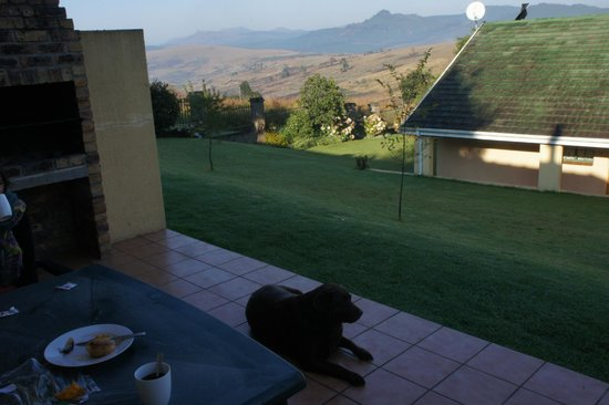 Thaba Tsweni Lodge & Safaris : Terrace