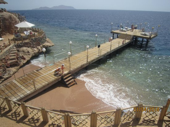 Maritim Jolie Ville Golf & Resort : Пантон и песок