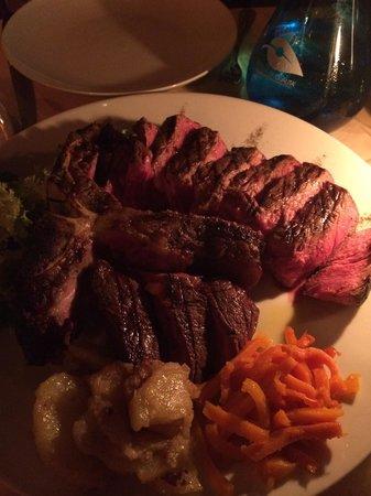 La Giostra : Crazy!!!! It's coolest steak!!!