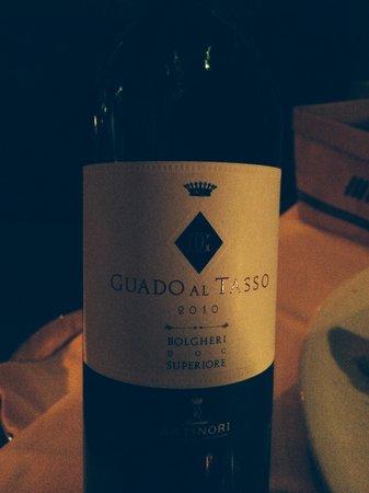 La Giostra : Good vine!