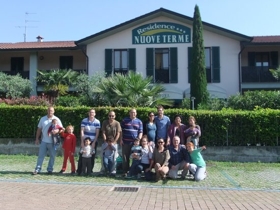 Residence Nuove Terme: Hotel front