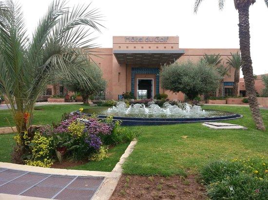 Hotel Du Golf: entrance
