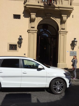 Four Seasons Hotel Firenze: A long trip of my car from Russia to Firenze.