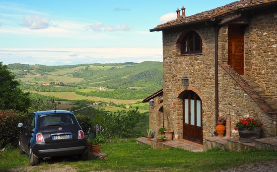 Poggio all'Olmo: The suites (apartments): upstairs= great for a couple + the best view