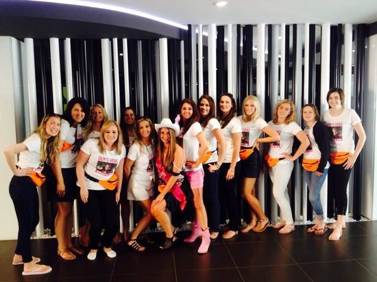 Flash Hotel Benidorm : Hen do in the flash reception