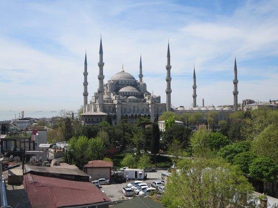 Seven Hills Hotel: de blauwe moskee