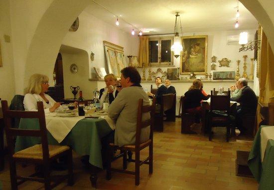 Country House Hotel Tre Esse: Heerlijk diner