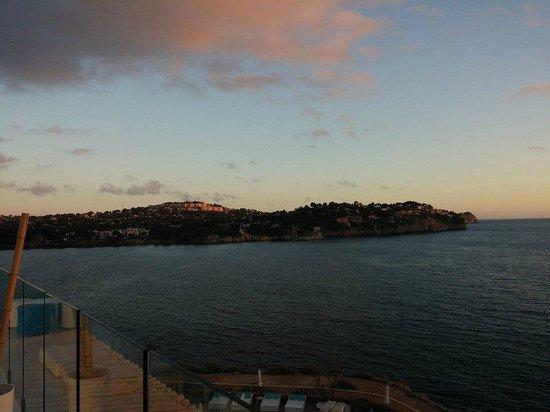 SENTIDO Punta del Mar: Blue Bar view