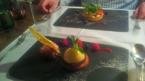 L'Eveil des Sens: amazing dessert (night 1)