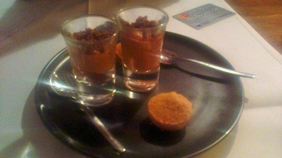 L'Eveil des Sens: extra free dessert (night 1)