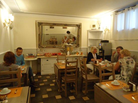 Relais La Corte di Cloris : Goed ontbijt, maar wat krap