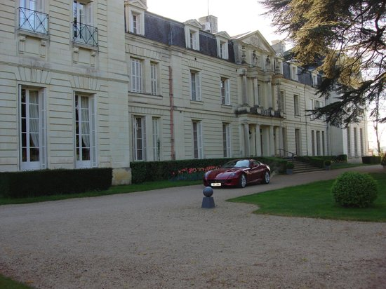 Chateau de Rochecotte: Beautiful hotel