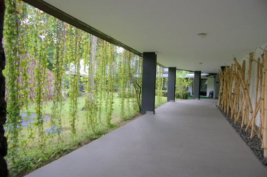 Riande Aeropuerto: Garden Walkway