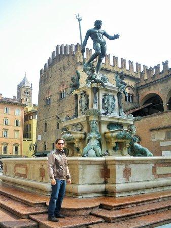 Piazza Maggiore : Io in Piazza