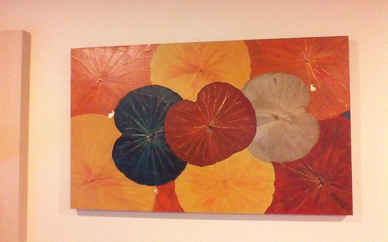 Himapan Gallery: Lotus Leaf painting
