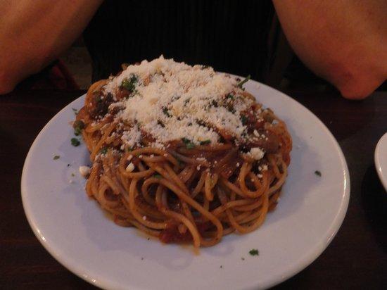Ta' Kris Restaurant: Spaghetti sauce