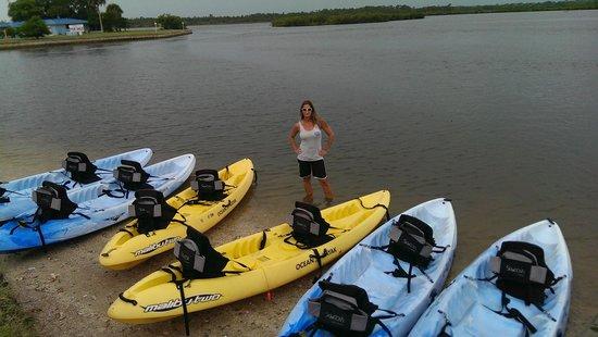 Calypso Kayaking Daytona Teri Will Guide You On Your Beach Kayak Adventure