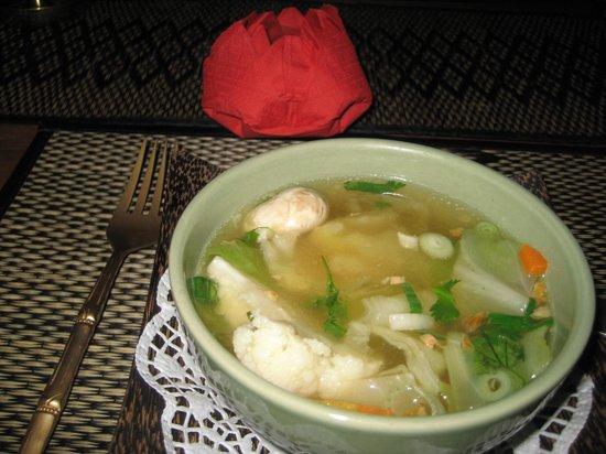 Sala Thai: Une soupe végétarienne