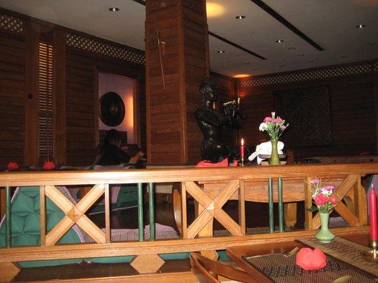 Sala Thai: Vue de la salle du restaurant