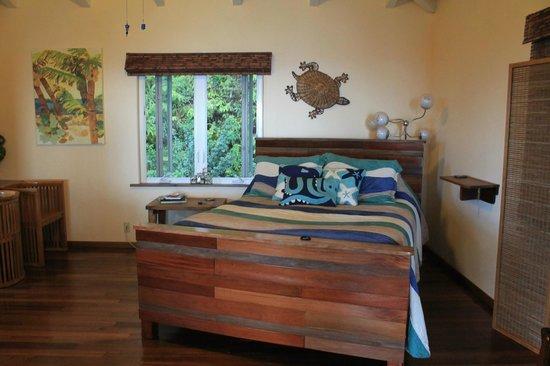 Waipio Rim : A very comfortable bed