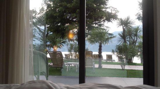 Hotel Du Lac: Vista dalla camera.