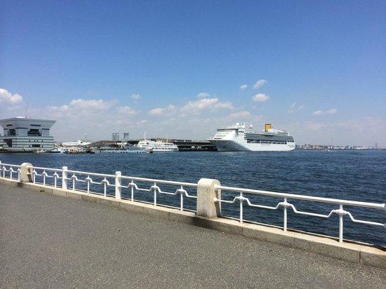 Hotel Monterey Yokohama: View from the Bay front