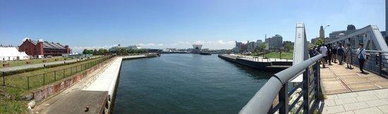 Hotel Monterey Yokohama: Walking around the Bay