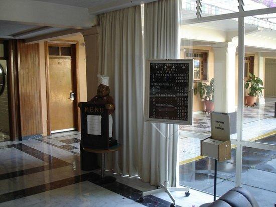 Hotel Fenix: Tarifs en vigueur en mars 2011.