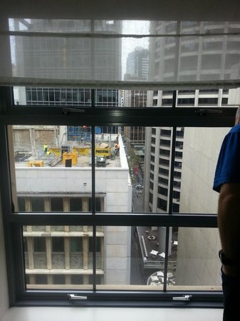 Radisson Blu Plaza Hotel Sydney : We were not interupted by construction across road