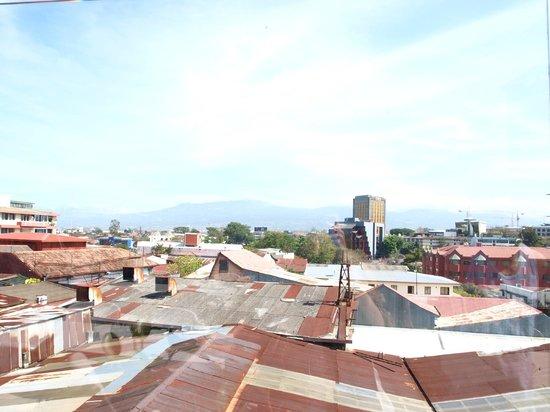 Hostel Pangea: Vistas desde la terraza