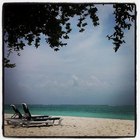 Meeru Island Resort & Spa : Calm and Quiet sea