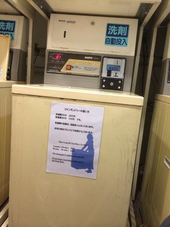 Hotel Wing International Nagoya : Washing machine