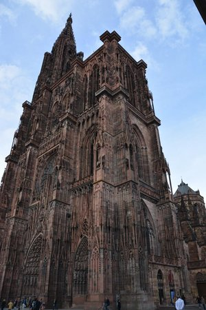Hotel Rohan : Notre Dame Cathedral in Strasbourg