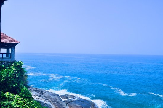 The Leela Raviz Kovalam: Incredible views out to the ocean
