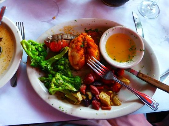 City Island Lobster House: I had the lobster tail, tender!