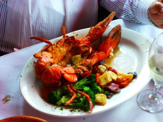 City Island Lobster House: broiled lobster