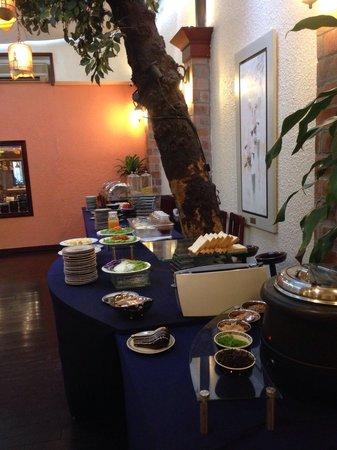 De Syloia Hotel: 朝食ビュッフェ2