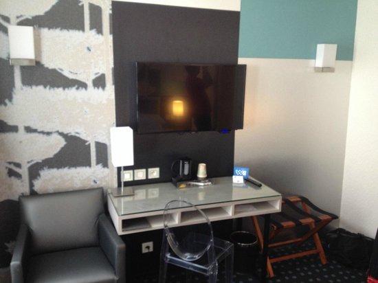 Best Western Villa Des Artistes : Room Deluxe 210