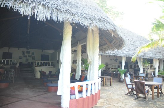 Fumba Beach Lodge: Open Dining area