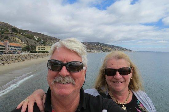 Malibu Pier: Selfie from Pier